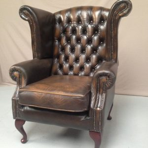 Fauteuil chesterfield wing chair