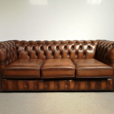 CANAPES CHESTERFIELD MARRON