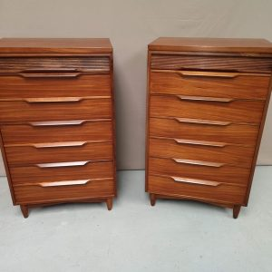 Paire commodes vintage