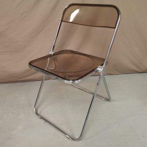 Chaises vintage design Giancarlo Piretti