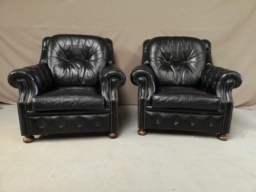 FAUTEUIL CHESTERFIELD NOI