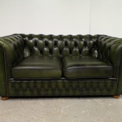 CANAPE CHESTERFIELD VERT